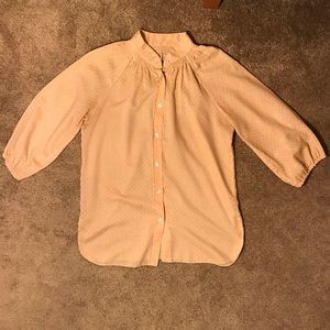Vintage Soft Pink Cowgirl Blouse